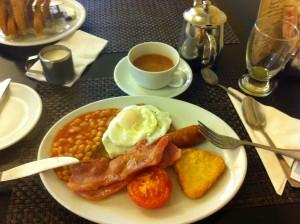 British petit déjeuné